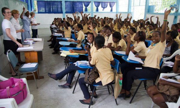 haiti nursing students